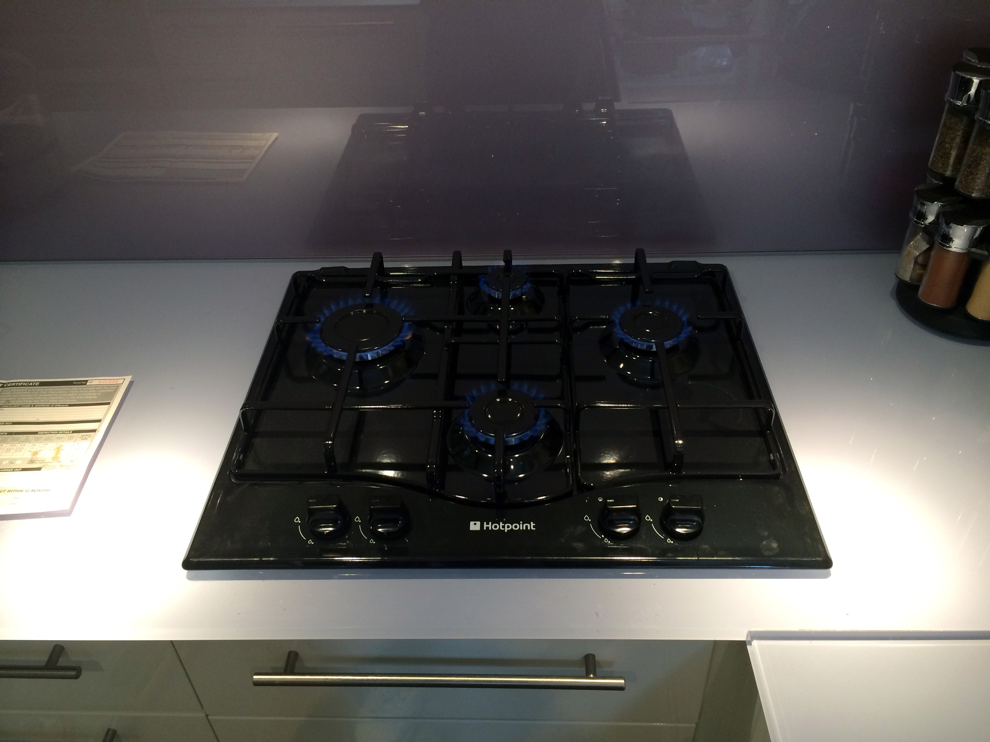 Hob Installation And Gas Certificate For Only 163 79 Inc Vat
