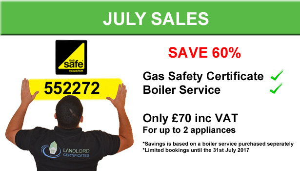 Gas Safety Certificate Offer